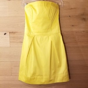 NWT French Connection Mini Dress Yellow